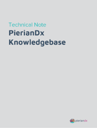 PierianDx Knowledgebase Technical Note (1) 1-1